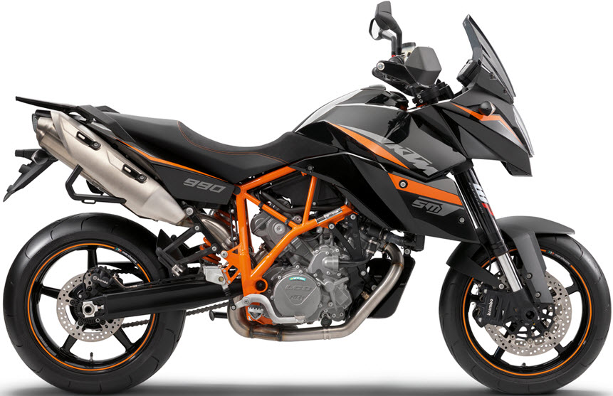 The KTM 990 SMT is a new take on the adventure bike