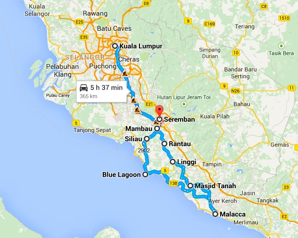 A Day Trip to Melaka