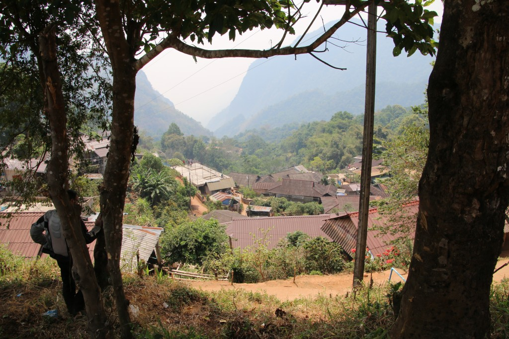 Village above Mae Sai